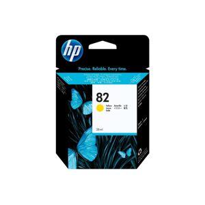 HP 82 28-ML Ink Cartridge Amarillo