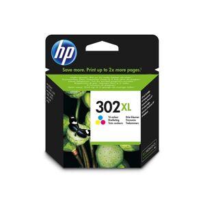 HP Cartucho de tinta HP 302XL color original (F6U67AE)