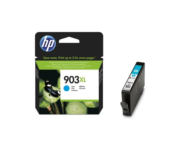 HP Cartucho de tinta HP 903XL cian original (T6M03AE)