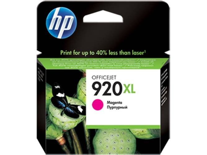 HP Cartucho de tinta HP 920XL magenta original (CD973AE)