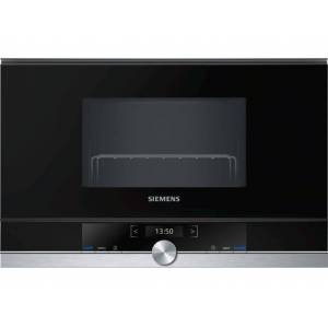Siemens Microondas Integrable SIEMENS BE634RGS1 (21 L - Con grill - Inox)