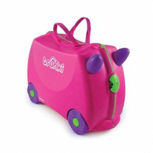 TRUNKI Maleta infantil trunki trixie rosa
