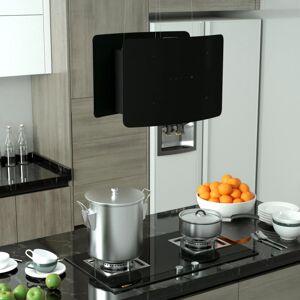 vidaXL campana extractora colgante táctil lcd vidrio templado Cocina y comedor Extractores