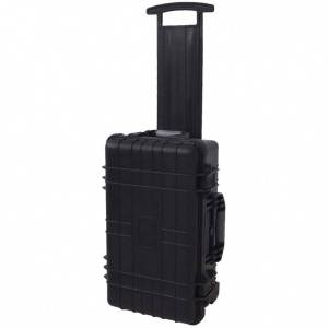 vidaXL carrito caja de herramientas con gomaespuma dentro Accesorios de bricolaje Cajas de herramientas