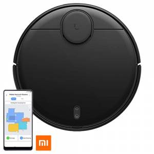 Geekbuying Xiaomi MI Home Robot Aspiradora Versión LDS Negro