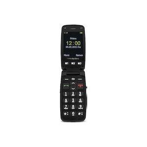 Doro Primo 406 6,1 cm (2.4 pulgadas pulgadas) 115 g Negro, Plata Teléfono básico