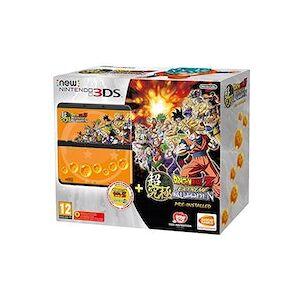 Nintendo New 3DS + Dragon Ball Z: Extreme Butoden Pack videoconsola portátil Multicolor 9,86 cm (3.88 pulgadas pulgadas) Pantalla táctil Wifi