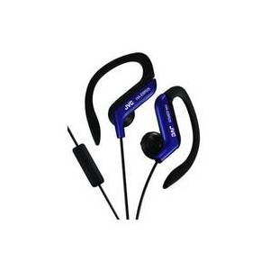 JVC HA-EBR25 Intraaural gancho de oreja Negro, Azul