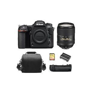 Nikon D500 + AF-S 18-300mm F3.5-6.3G ED VR + Tarjeta SD de 32 GB + Bolsa de la camara + EN-EL15A Bateria + MB-D17 Multi-Poder Bateria Pack