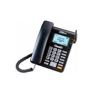 LTD Telefono Fijo Maxcom Fixed Phone Mm28d Negro