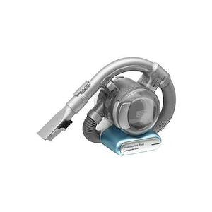 Black & Decker PD1420LP aspiradora de mano Sin bolsa Azul, Metálico