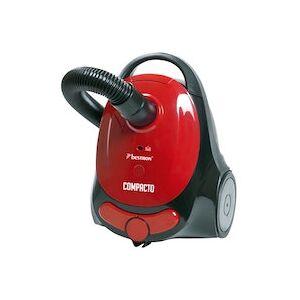 Bestron ABG150RB aspiradora 800 W Aspiradora cilíndrica 1,3 L Negro, Rojo