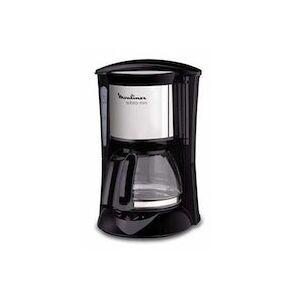 Moulinex FG1508 Independiente Cafetera de filtro Negro, Metálico 6 tazas