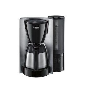 Bosch TKA6A683 cafetera eléctrica Independiente Cafetera de filtro Negro, Acero inoxidable