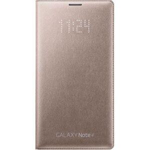 Samsung Galaxy Note 4 LED Flip Wallet - Oro