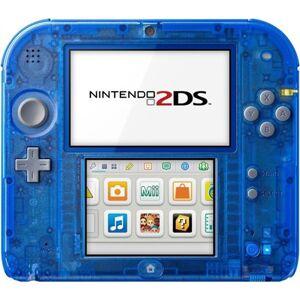 Nintendo 2DS Transparente Azul, Sin Caja