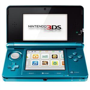 Nintendo 3DS Azul Aqua, Rebajada