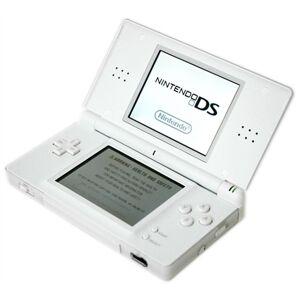 Nintendo DS Lite Blanco, Caja