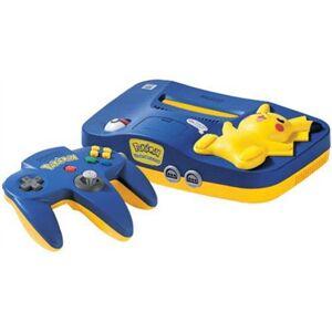 Nintendo 64 Pikachu Azul, Sin Caja