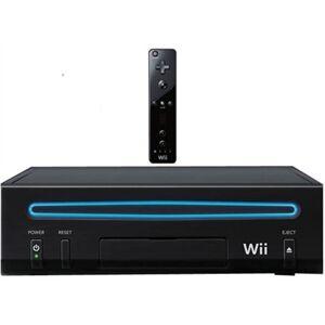 Nintendo Wii Consola V2 Negra (Sin Juego), Rebajada