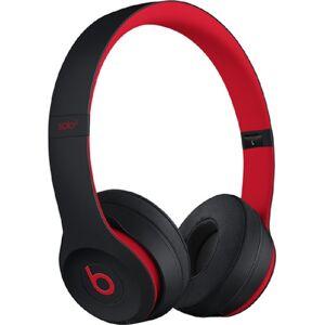 Beats Solo3 Wireless On-Ear Headphones - Defiant Negro/Rojo, A