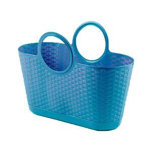 Progarden Bolso Capazo Bag Rattan Multiusos 28 Litros Azul Progarden