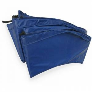 Alice's Garden - Cojín protector de muelles azul para cama elástica 245 cm - Pluton XXL