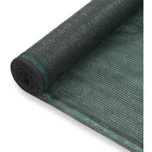 VIDAXL Toldo para Pista de Tenis HDPE 1x50 m Verde - VIDAXL