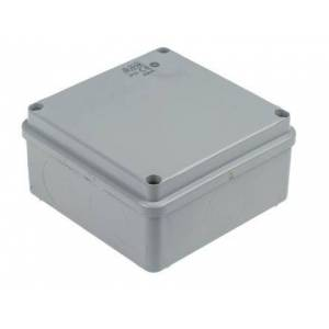 ABB Caja de conexiones  , Termoplástico, Gris, 100mm, 100mm, 50mm, 100 x 100x 50mm, IP65, 00846