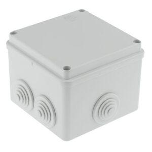 ABB Caja de conexiones  , Termoplástico, Gris, 100mm, 100mm, 80mm, 80 x 100 x 100mm, IP55, 00821