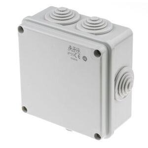 ABB Caja de conexiones  , Termoplástico, Gris, 100mm, 100mm, 50mm, 50 x 100 x 100 mm, IP55, 00816