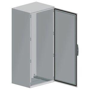 Schneider Electric Carcasa vertical para suelo de Acero, 2000 x 1600 x 400mm, Gris, 2 Puertas, IP55, NSYSM2016402DP