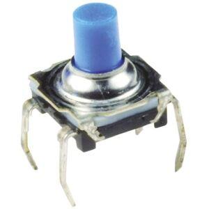 C & K Interruptor táctil tipo Lateral, parte superior, contactos SPST-NA, Índice de protección IP60, KSL0M411LFT