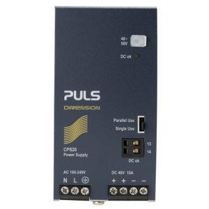 PULS Fuente de alimentación de montaje en carril DIN , DIMENSION C-Line, 1 salida 48V dc 10A 480W, CPS20.481