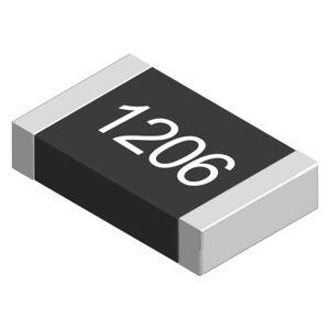 Panasonic Resistencia fija montada en superficie de película gruesa , 10Ω, ±5%, 0,33W, Película Gruesa, 1.206 (5), ERJT08J10RV