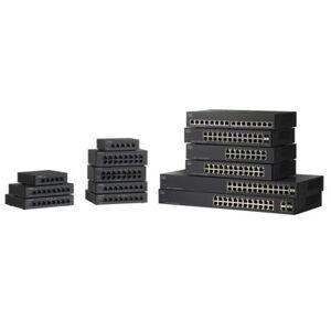 Cisco Switch Gigabit  8 puertos Sobremesa, montaje en rack, SG110D-08HP-EU