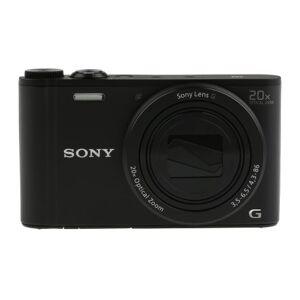 Sony Cámara digital  , Negro, zoom digital 80 (Movie) X, Up → 306 (Still Image) X, zoom óptico 20X,, DSCWX350B.CEH