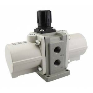 SMC Regulador de impulso neumático  , G 1/4, Silenciador, VBA11A-F02GN