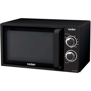 Sauber SERIE 3-20BW - Horno Microondas Con Grill 20 Litros Negro