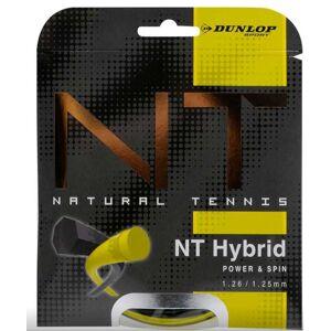 5013317157188 Dunlop Cordaje Tenis NT HYBRID Yellow 11m 126mm