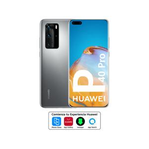 """Huawei Móvil - Huawei P40 Pro, Plata, 256 GB, 8 GB, 6.58"""" HD+, Kirin 990, 4200 mAh, 5G, Android"""
