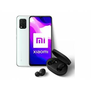 "Xiaomi Móvil - Xiaomi MI 10 LITE , Blanco, 128 GB, 6 GB, 6.57"" , 2,3 GHz + Xiaomi Mi True Wireless Earbuds Basic"