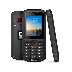 CROSSCALL - Móvil - Crosscal Spider X4, Bluetooth, 3G+, Doble Sim, Cámara 2.0 MP, Negro