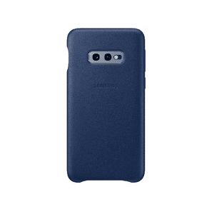 Samsung Funda - Samsung Leather Cover, para Samsung Galaxy S10e, Piel, Azul