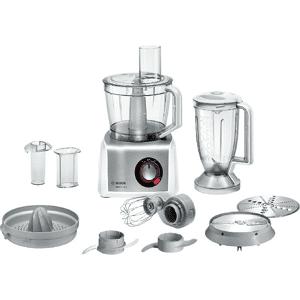 Bosch Procesador de alimentos - Bosch MC812S820, MultiTalent 8, 1250 W, Hasta 50 funciones, Bol XXL de 3.9 l, Blanco
