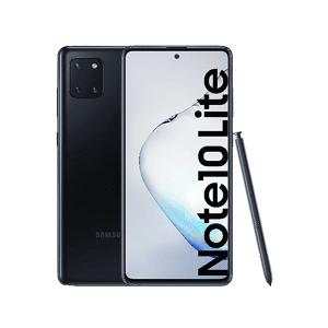 "Samsung Móvil - Samsung Galaxy Note 10 Lite, Aura Black, 128GB, 6GB RAM, 6.7"" Full HD+, Exynos 9810, 4500 mAh, Android"