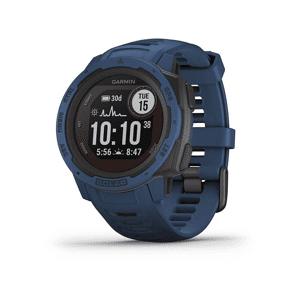 """Garmin Pulsera de actividad - Garmin Instinct Solar, Azul, 45 mm, 0.9"""", Carga solar, Bluetooth, ANT+, 16GB, 10 ATM"""