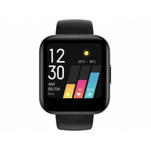 """REALME Smartwatch - realme Watch, 1.4"""", Bluetooth, Negro, 9 días autonomía, IP68, Frec Cardíaca, Notificaciones"""