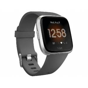FITBIT Reloj deportivo - Fitbit Versa Lite, Azul marino, Actividad, Sueño, Sumergible, Apps