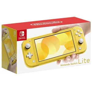 Nintendo Consola - Nintendo Switch Lite, Portátil, Controles integrados, Amarillo